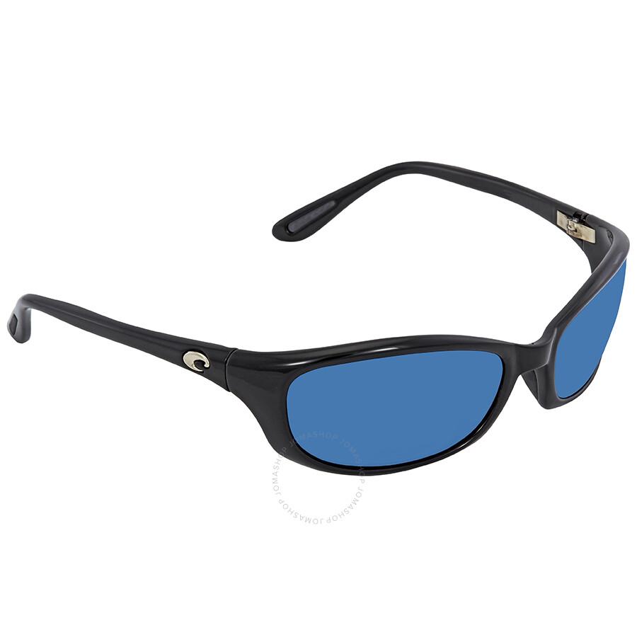 b721ee080b ... Costa Del Mar Harpoon Blue Mirror Polarized Plastic Rectangular  Sunglasses HR 11 OBMP ...