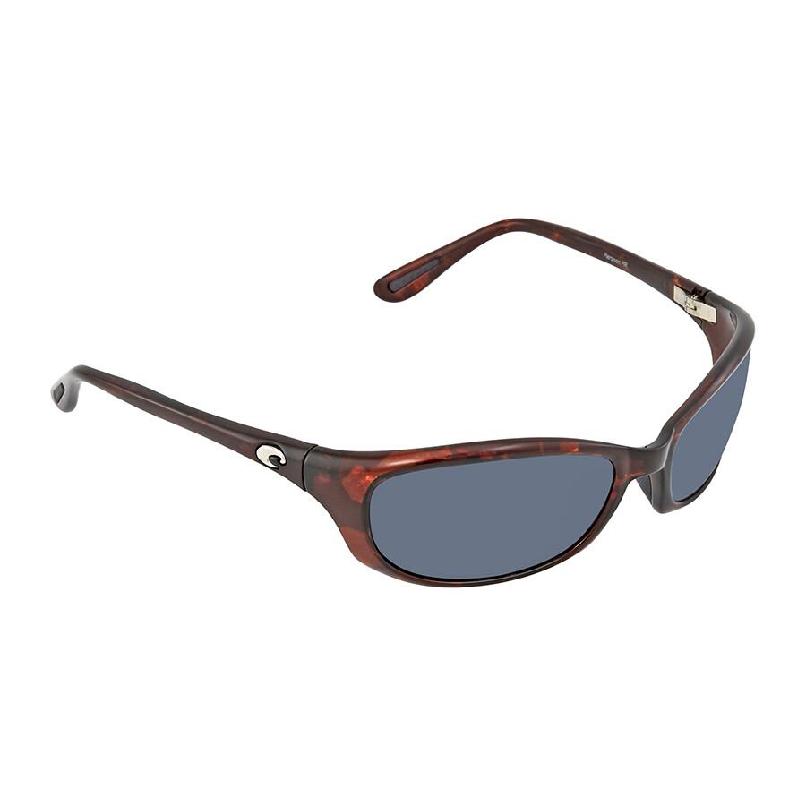38a0fe5835 Costa Del Mar Harpoon Gray Polarized Plastic Rectangular Sunglasses HR 10  OGP ...