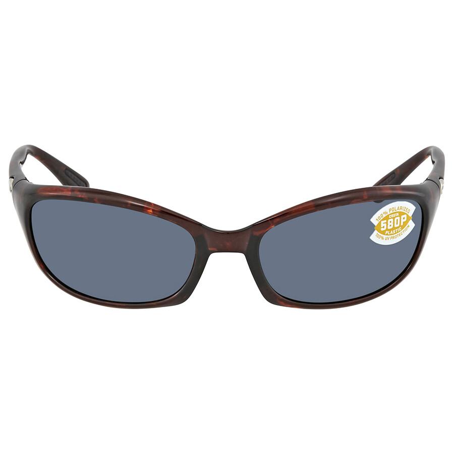 ca8c42edd8 ... Costa Del Mar Harpoon Gray Polarized Plastic Rectangular Sunglasses HR  10 OGP ...