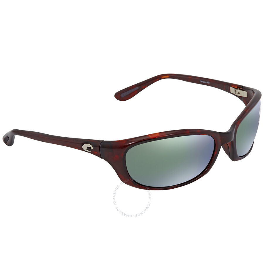 4f7579f9977b2 Costa Del Mar Harpoon Green Mirror 580G Wrap Sunglasses HR 10 OGMGLP Item  No. HR 10 OGMGLP