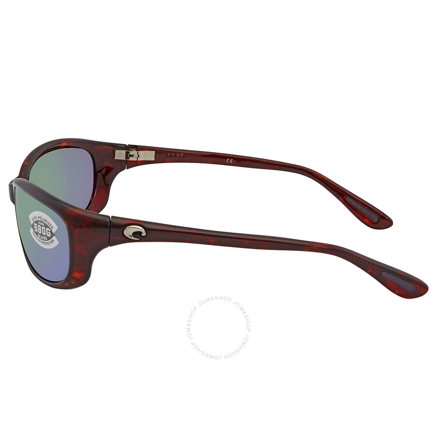 49de4629fe12b Costa Del Mar Harpoon Green Mirror 580G Wrap Sunglasses HR 10 OGMGLP ...