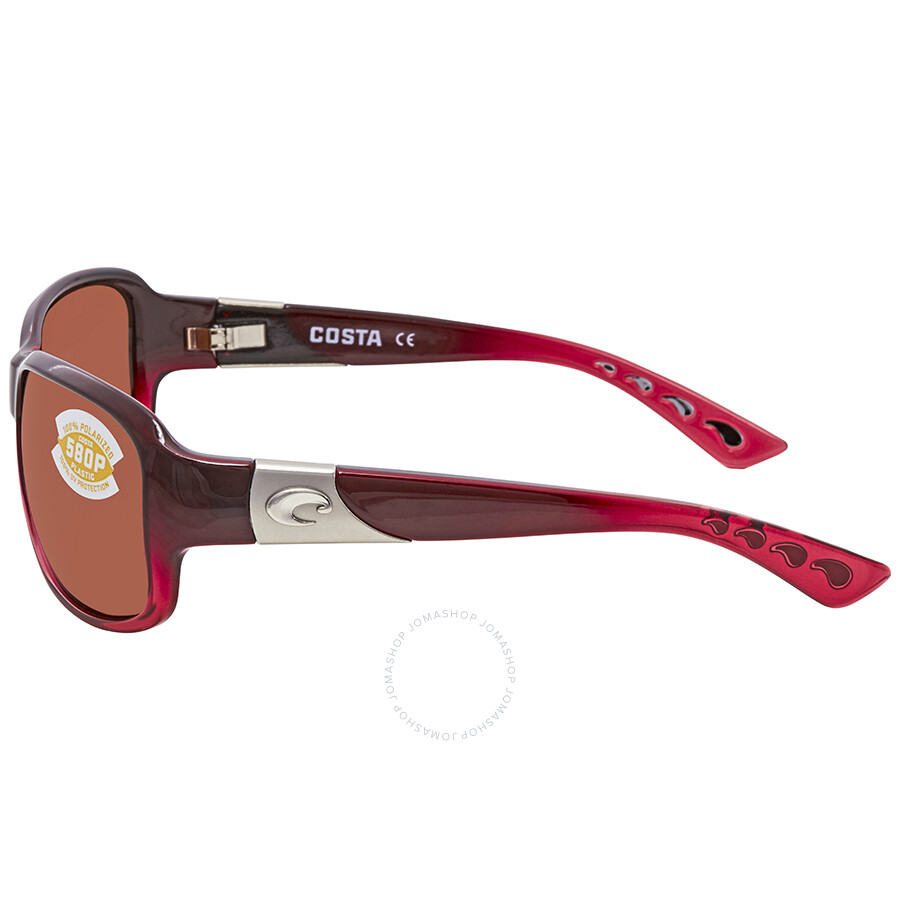 cbfaceb32648 Costa Del Mar Inlet Pomegranate Fade Sunglasses IT 48 OCP - Costa ...
