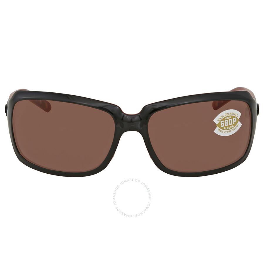 9d380d63a881 ... Costa Del Mar Isabela Copper Rectangular Sunglasses IB 32 OCP ...