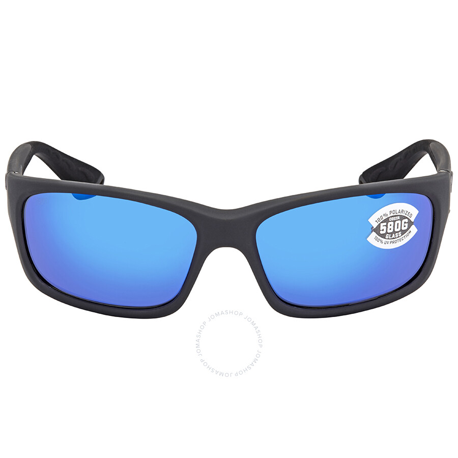 57fe17bd39b8 ... Costa Del Mar Jose Blue Mirror Glass W580 Rectangular Sunglasses JO 98  OBMGLP ...