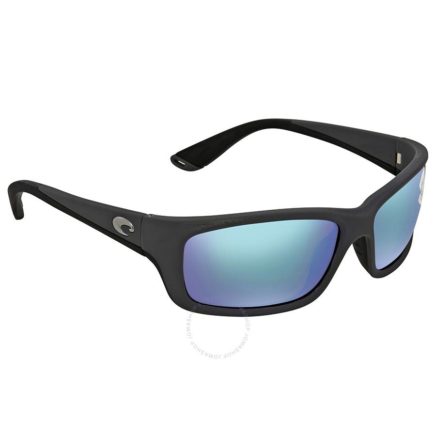 e54485d54aac Costa Del Mar Jose Green Mirror Glass 580 Rectangular Sunglasses JO 98  OGMGLP Item No. JO 98 OGMGLP