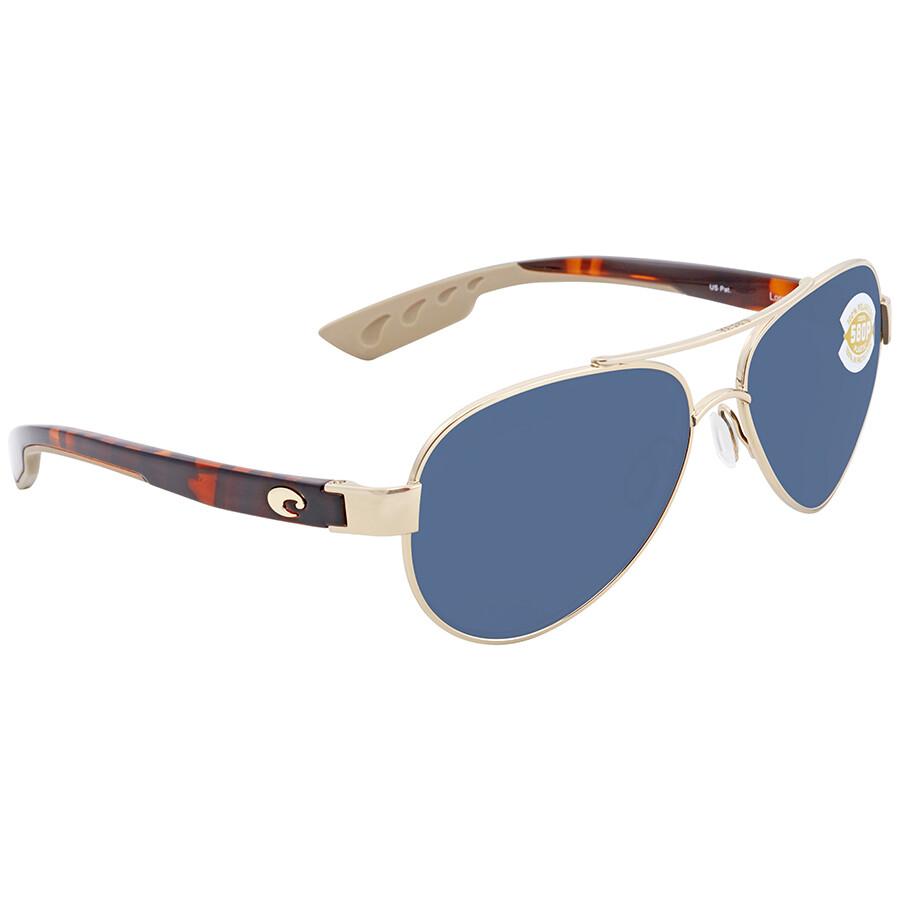 ef6038eeda Costa Del Mar Loreto Grey 580P Aviator Sunglasses LR 64 OGP Item No. LR 64  OGP