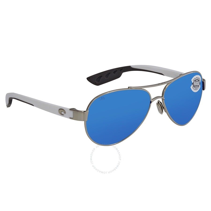 0a8d12bf10 Costa Del Mar Loreto Polarized Blue Mirror Aviator Sunglasses LR 21 OBMGLP  Item No. LR 21 OBMGLP