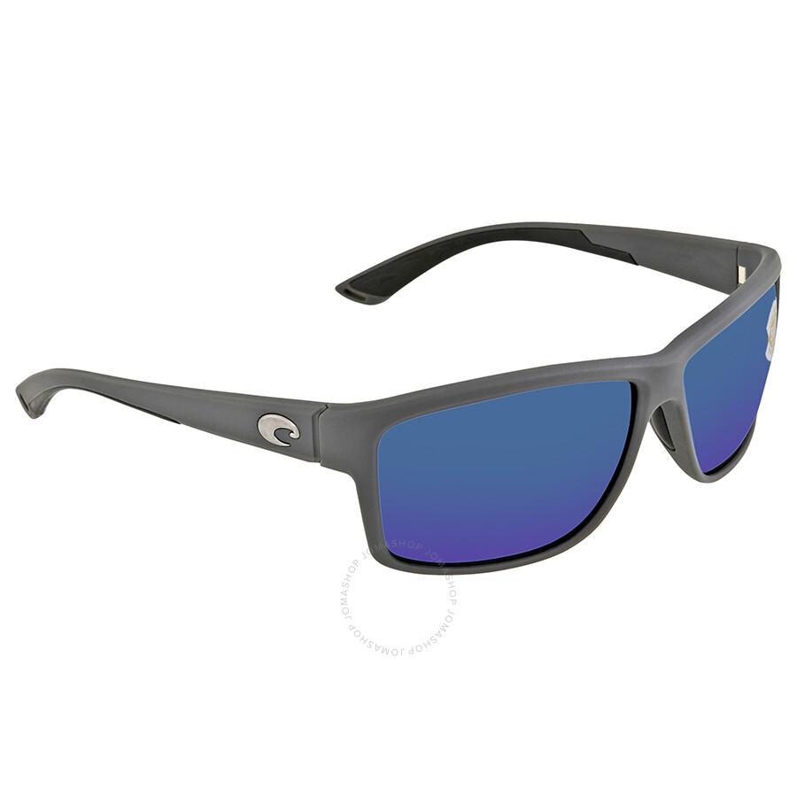7ebf013ed Costa Del Mar Mag Bay Blue Mirror Polarized Plastic X-Large Fit Sunglasses  AA 98 OBMP Item No. AA 98 OBMP