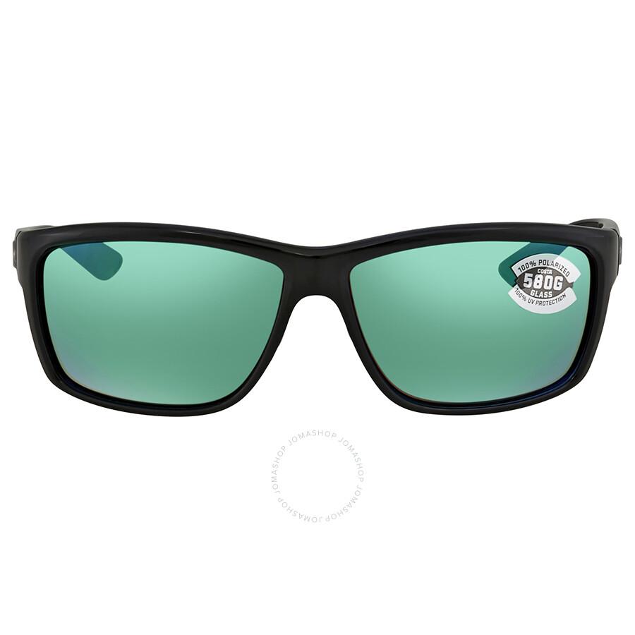 eb75c4f02b ... Costa Del Mar Mag Bay Green Mirror Polarized Glass Rectangular Sunglasses  AA 11 OGMGLP ...