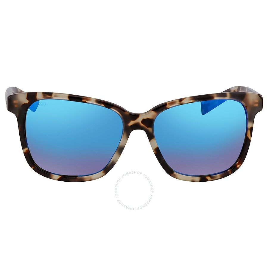 d8fc2046550d ... Costa Del Mar May Blue Mirror 580G Polarized Square Ladies Sunglasses  MAY 210 OBMGLP ...