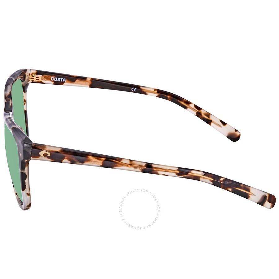 cf716e715bd6a Costa Del Mar May Polarized Green Mirror Medium Fit Sunglasses ...