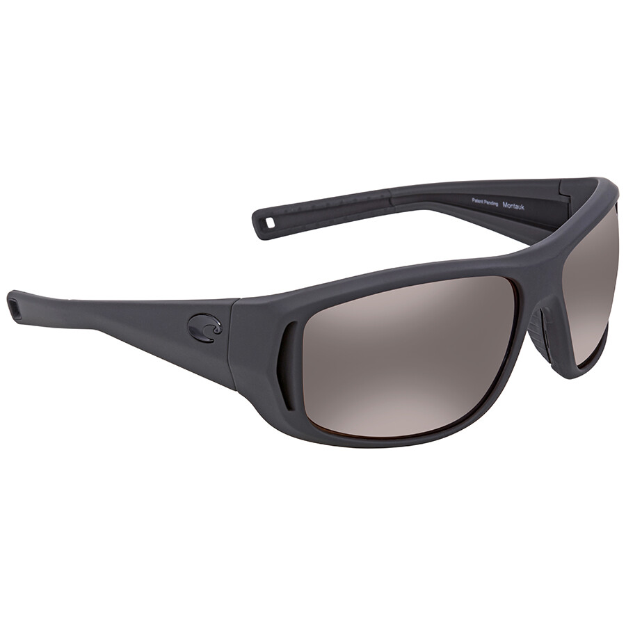 6623966186 Costa Del Mar Montauk Copper Silver Mirror 580P Rectangular Sunglasses MTK  187 OSCP Item No. MTK 187 OSCP