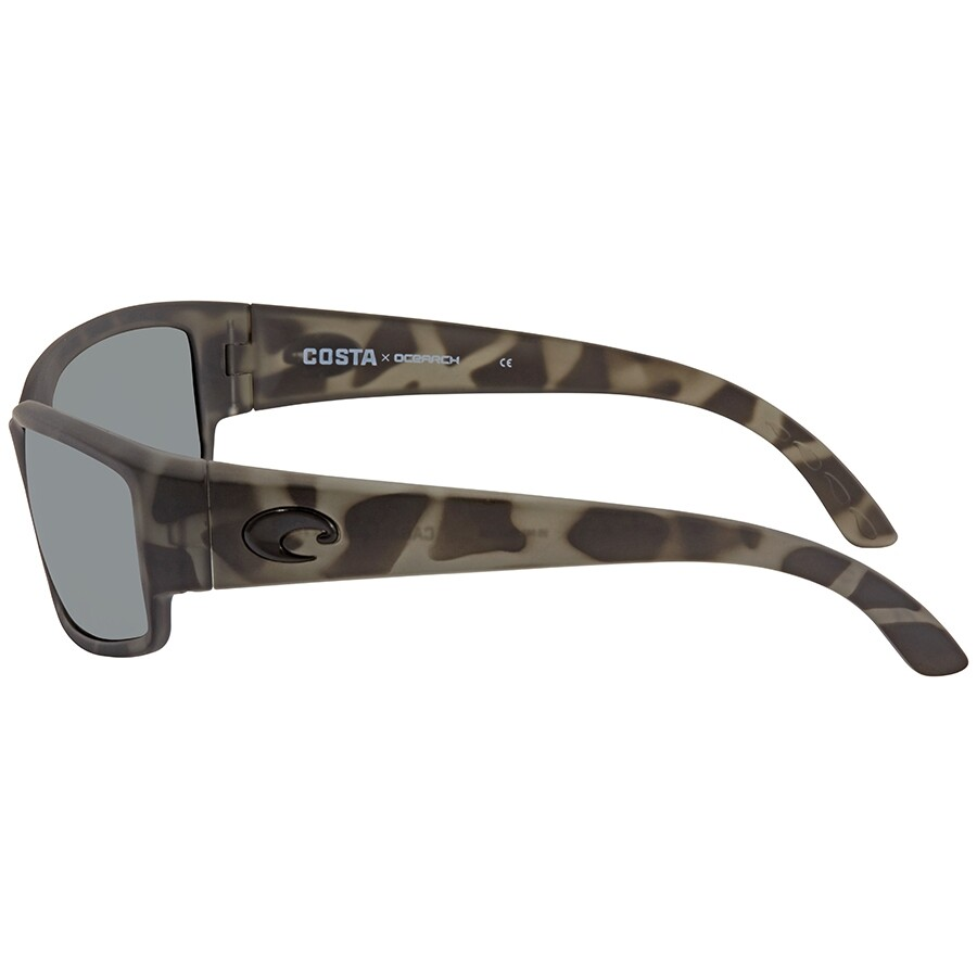 8c264ce449ca ... Costa Del Mar Ocearch Caballito Grey Silver Mirror 580G Sunglasses  Men's Sunglasses CL 140OC OSGGLP