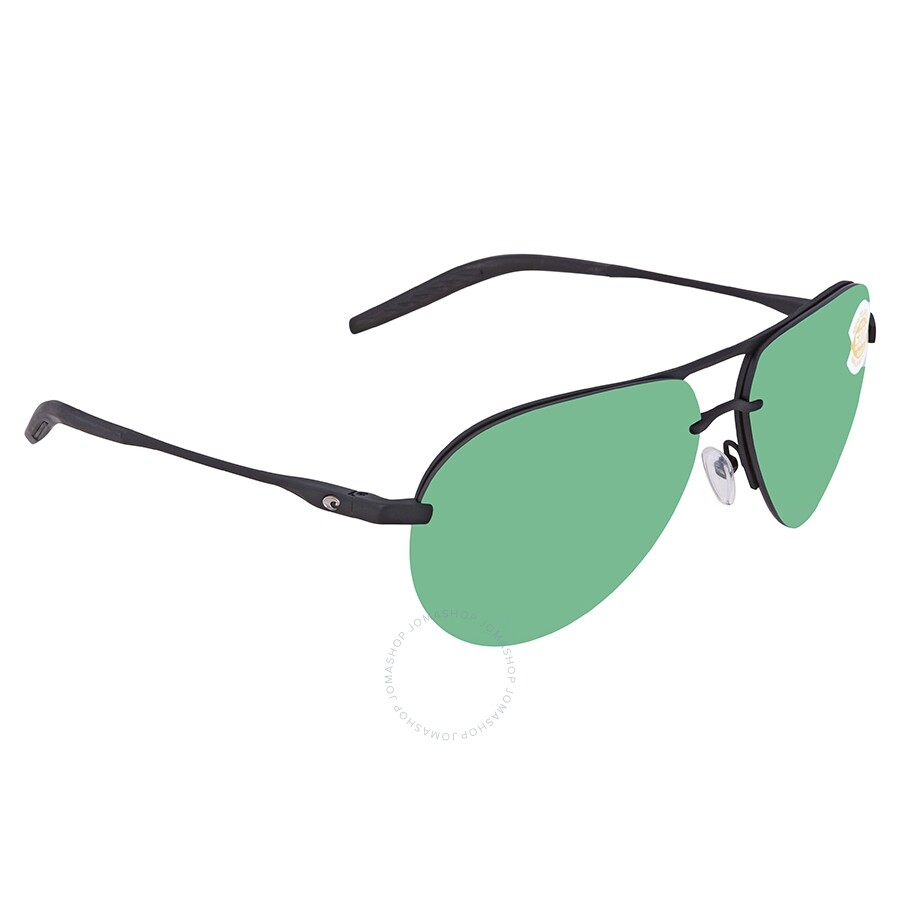 d82b5562a99 Costa Del Mar OGMP Green Mirror Polarized Plastic Aviator Sunglasses HLO 11  OGMP ...