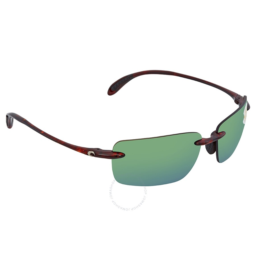 ac7e0b3eb55b Costa Del Mar Oyster Bay Green Mirror Polarized Plastic Rectangular  Sunglasses OYB 10 OGMP Item No. OYB 10 OGMP