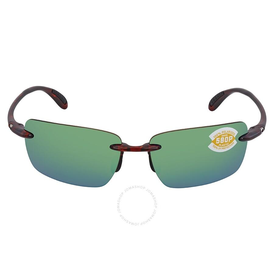 3433ab81fd11 ... Costa Del Mar Oyster Bay Green Mirror Polarized Plastic Rectangular  Sunglasses OYB 10 OGMP ...
