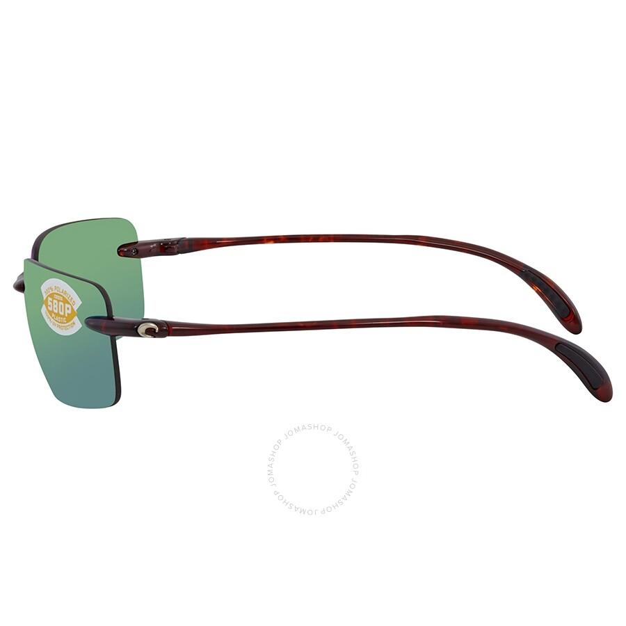 853e88349785 ... Costa Del Mar Oyster Bay Green Mirror Polarized Plastic Rectangular  Sunglasses OYB 10 OGMP