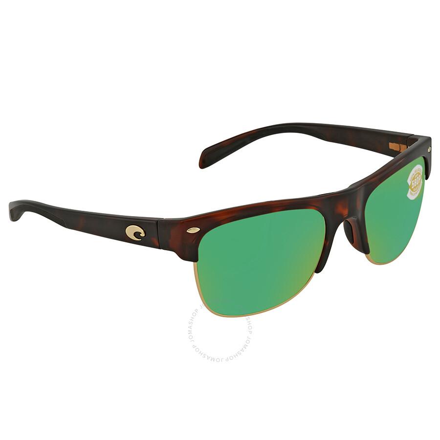 60df9cc15d Costa Del Mar Pawleys Green Mirror Polarized Plastic Large Fit Sunglasses  PW 66 OGMP ...