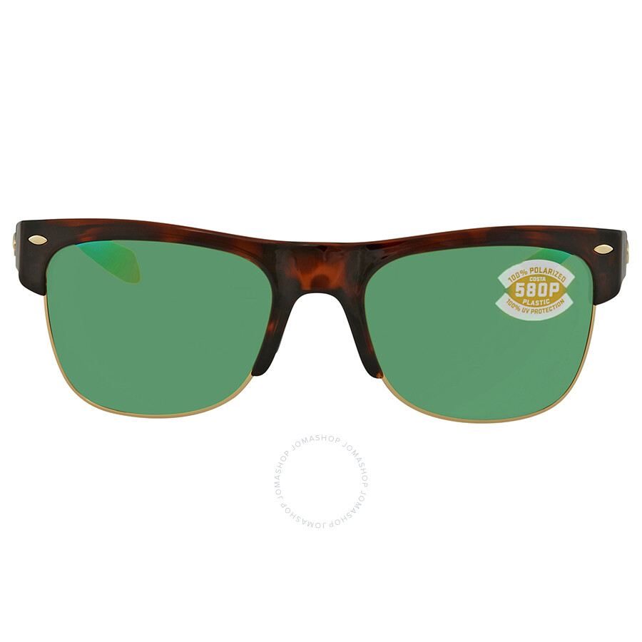 b005dd14a6 ... Costa Del Mar Pawleys Green Mirror Polarized Plastic Large Fit  Sunglasses PW 66 OGMP ...