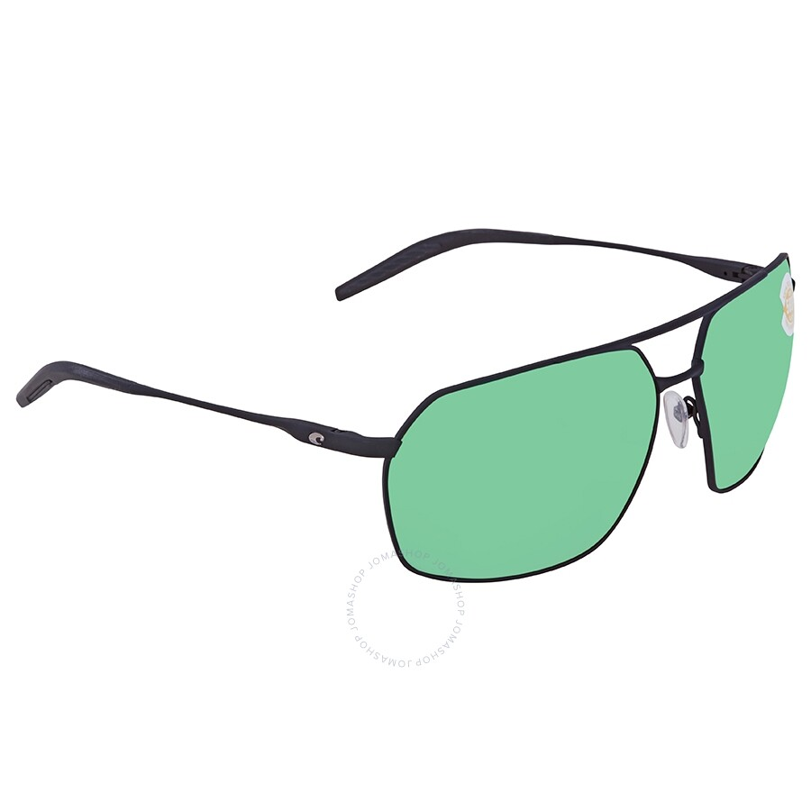7d0448d5e2e Costa Del Mar Pilothouse Green Mirror Polarized Plastic Aviator Sunglasses  PLH 11 OGMP ...