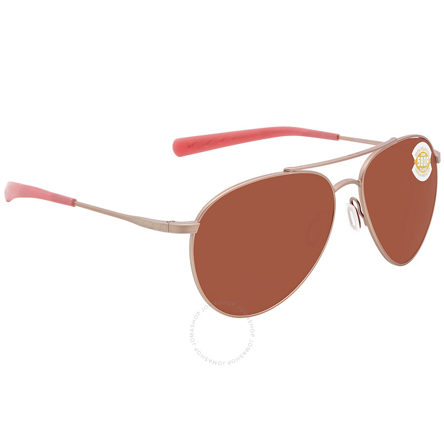 3ce0d745e4a2 Costa Del Mar Piper Medium Fit Copper Sunglasses PIP 184 OCP Item No. PIP  184 OCP