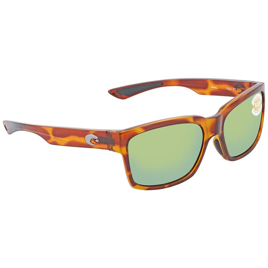 8f36cabb6b Costa Del Mar Playa Green Mirror 580P Sunglasses PY 51 OGMP Item No. PY 51  OGMP