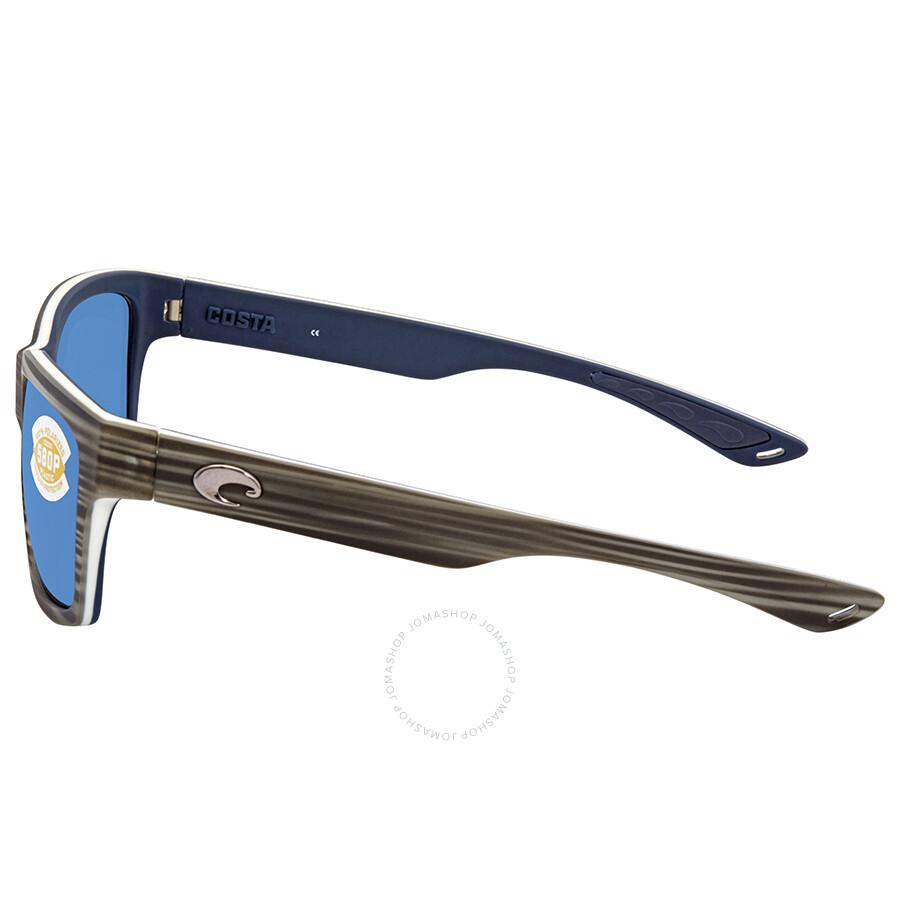b99c5922c7b4a ... Costa Del Mar Playa Medium Fit Blue Mirror Square Sunglasses PY 100 OBMP