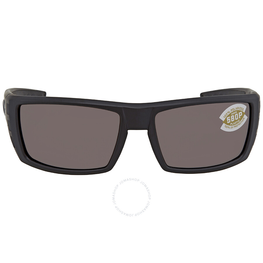 3ec071bfff ... Costa Del Mar Rafael Copper Silver Mirror 580P Rectangular Sunglasses  RFL 01 OSCP ...