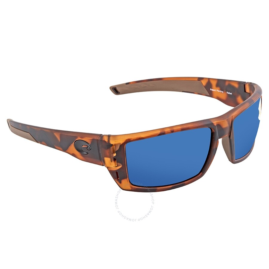 346ddd52d9263 Costa Del Mar Rafael Polarized Blue Mirror Sunglasses RFL 66 OBMP ...