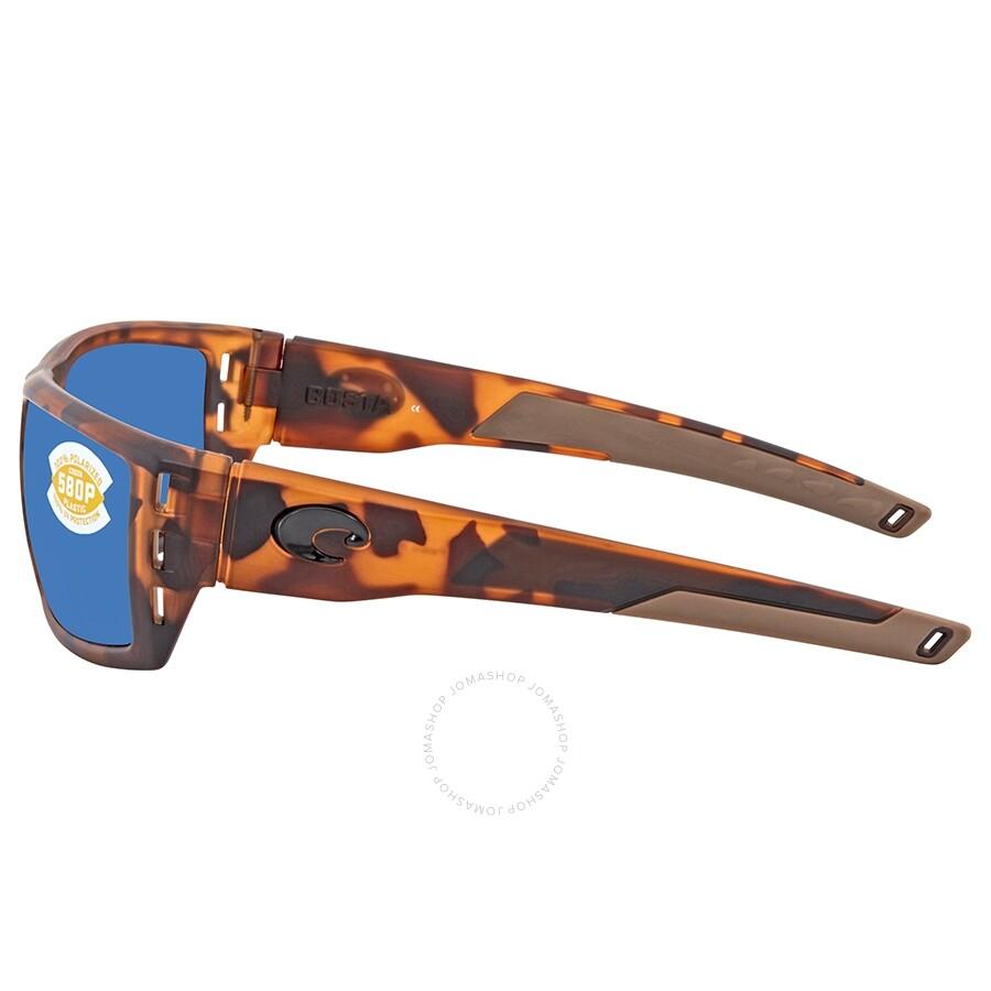 6cc83e0821cad Costa Del Mar Rafael Polarized Blue Mirror Sunglasses RFL 66 OBMP ...
