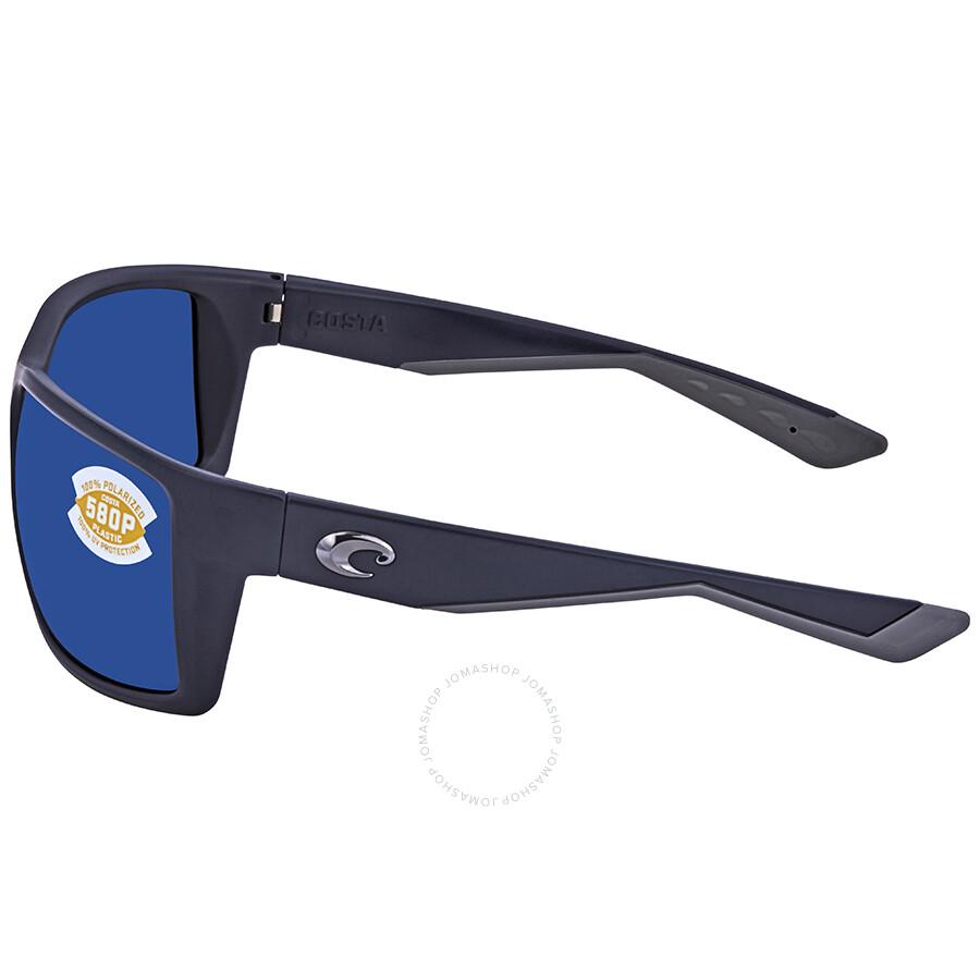 b8a8735fdc8cd ... Costa Del Mar Reefton Blue Mirror 580P Rectangular Sunglasses RFT 75  OBMP