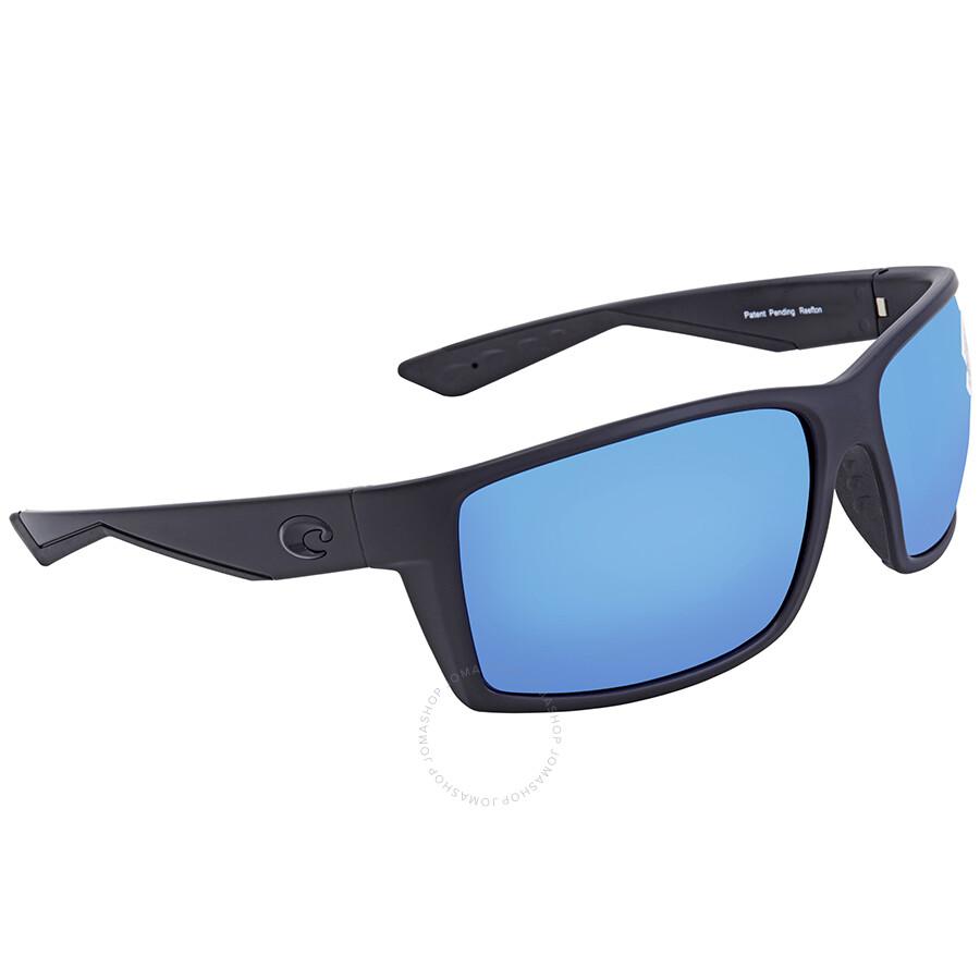 dbe193f73 Costa Del Mar Reefton Blue Mirror Glass Polarized Sunglasses RFT 01 OBMGLP  Item No. RFT 01 OBMGLP