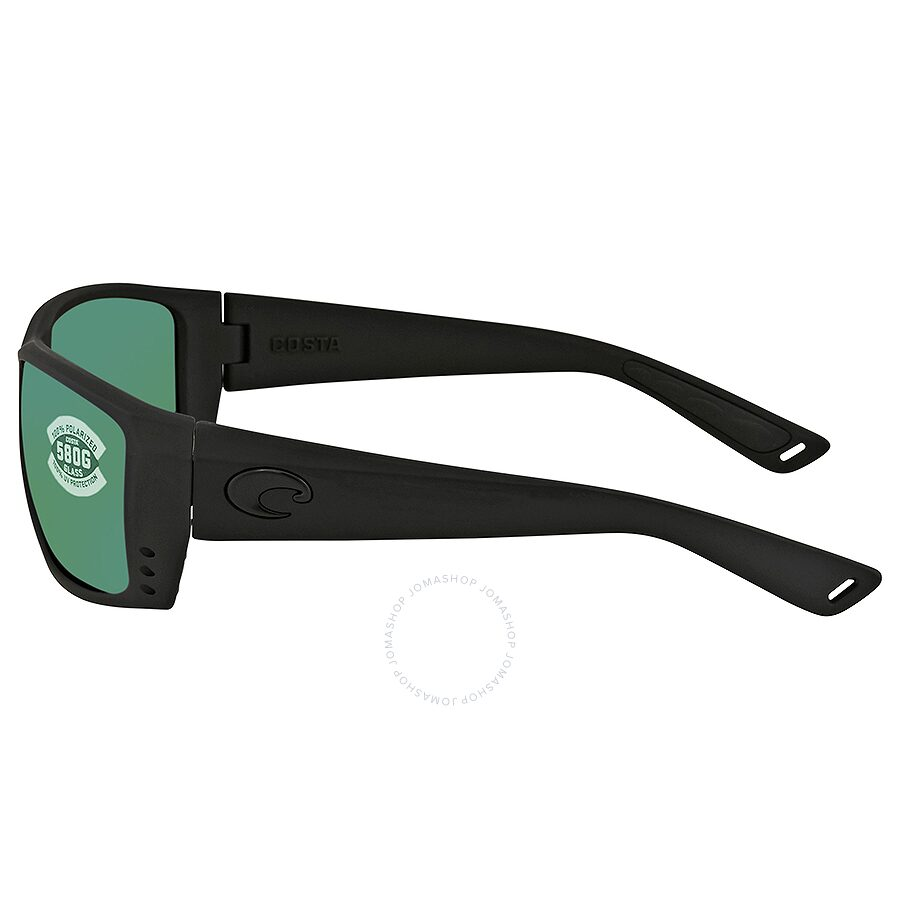 05ab7943f5 Costa Del Mar Reefton Green Mirror Polarized Plastic Rectangular Sunglasses  AT 01 OGMGLP