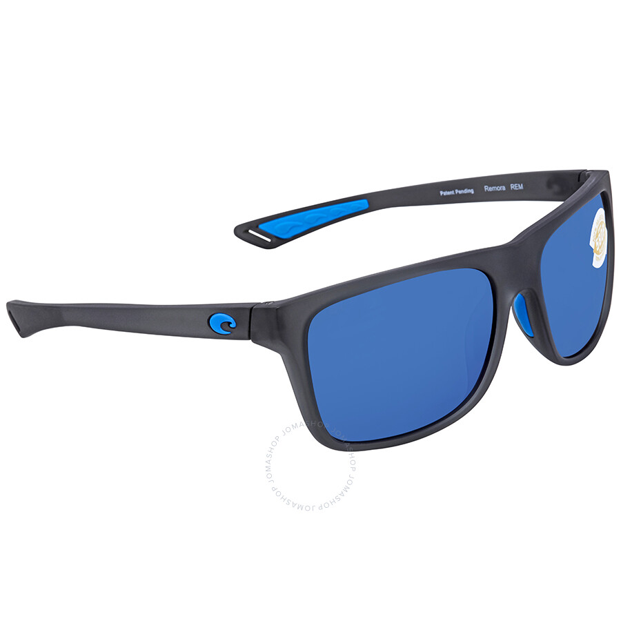 165a4f8676cee Costa Del Mar Remora Blue Mirror Rectangular Sunglasses REM 178 OBMP Item  No. REM 178 OBMP