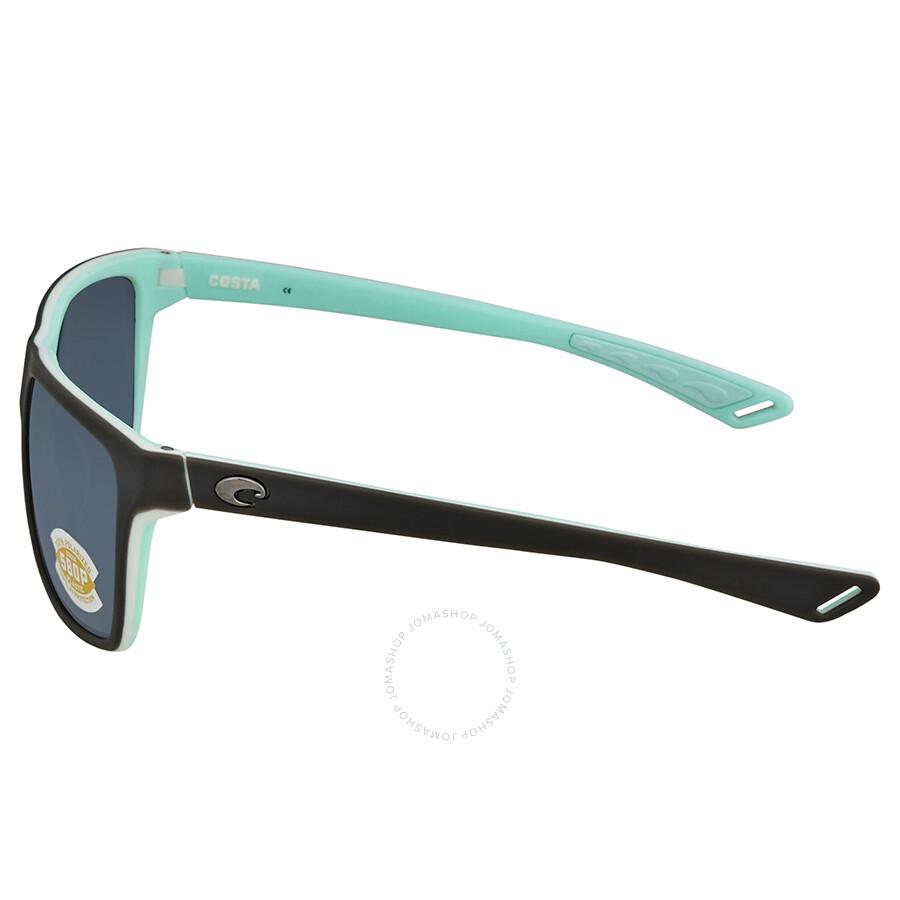 f9f4f33c51dc Costa Del Mar Remora Grey Rectangular Sunglasses REM 180 OGP - Costa ...