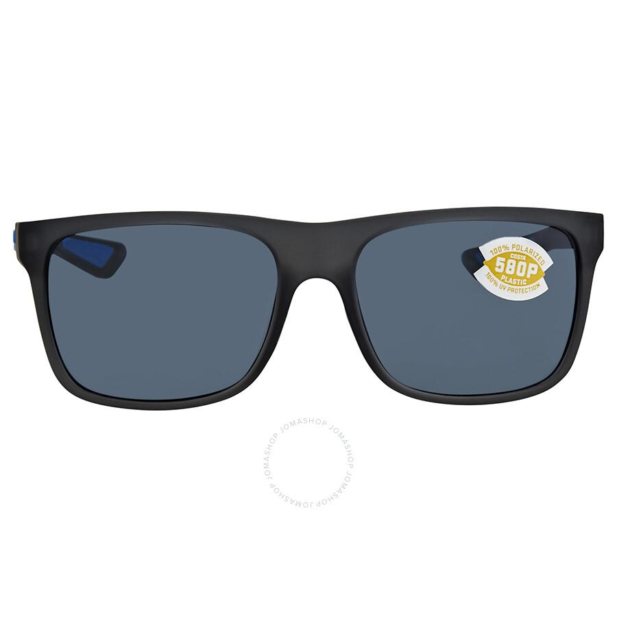 f7e9306cc34 Costa Del Mar Remora Medium Grey Rectangular Sunglasses REM 178 OGP Item  No. REM 178 OGP