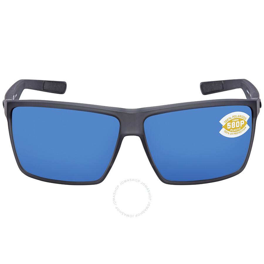 ef0a8d6bd19b ... Costa Del Mar Rincon Blue Mirror 580P Rectangular X-Large Sunglasses  RIN 156 OBMP ...