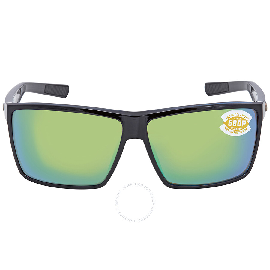 bd749c1cfb ... Costa Del Mar Rincon Green Mirror 580P Rectangular X-Large Sunglasses  RIN 11 OGMP ...