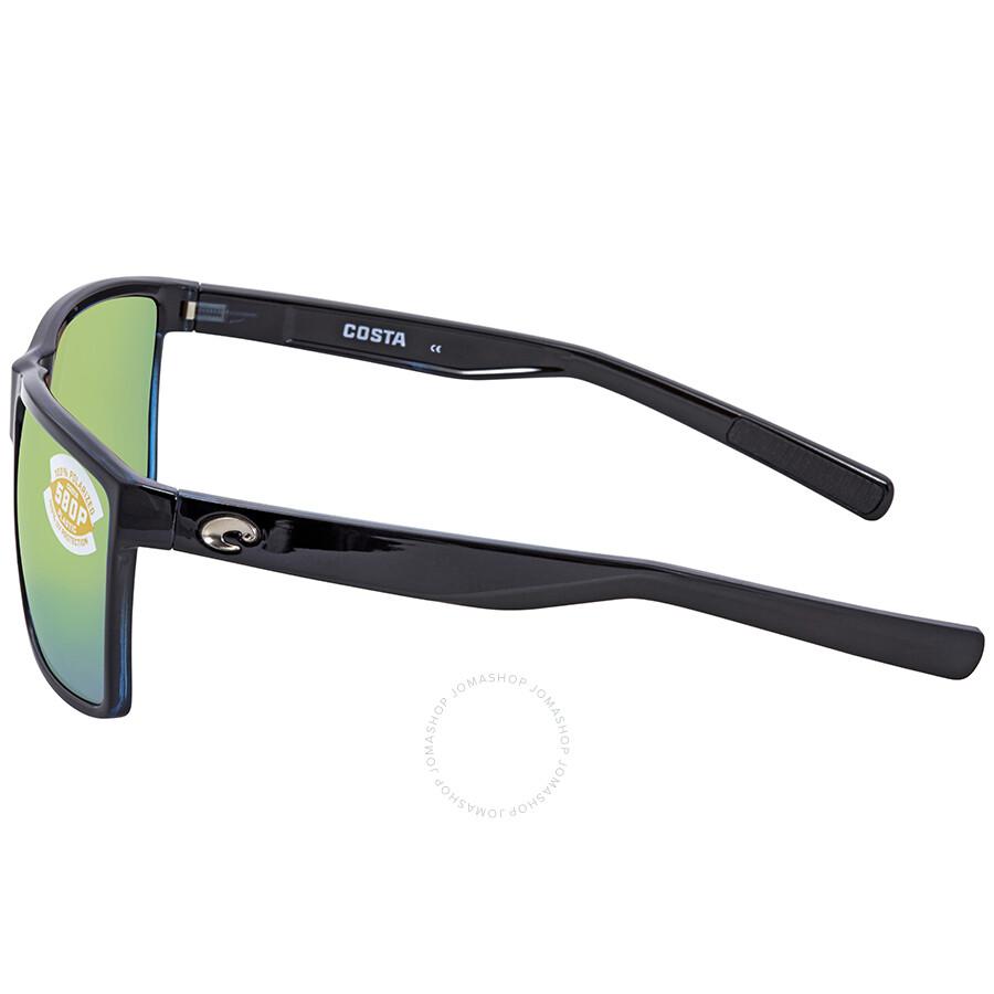 1bde3c3199 ... Costa Del Mar Rincon Green Mirror 580P Rectangular X-Large Sunglasses  RIN 11 OGMP