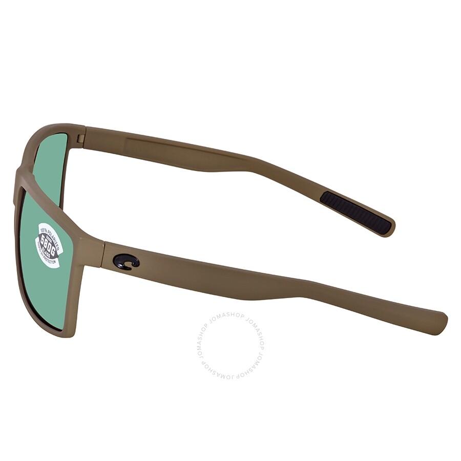 ff6d43d1423a8 ... Costa Del Mar Rincon Green Mirror Polarized Glass Square Sunglasses RIN  198 OGMGLP