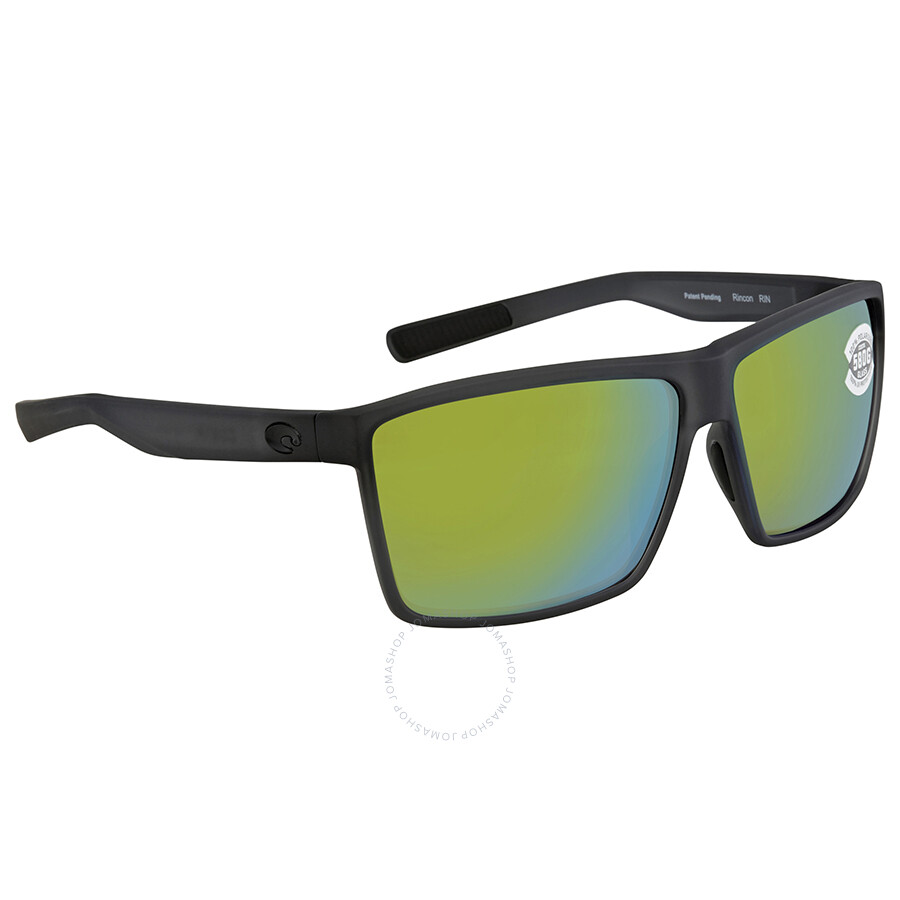 49853e5f024 Costa Del Mar Rincon Green Mirror Rectangular Sunglasses RIN 156 OGMGLP ...