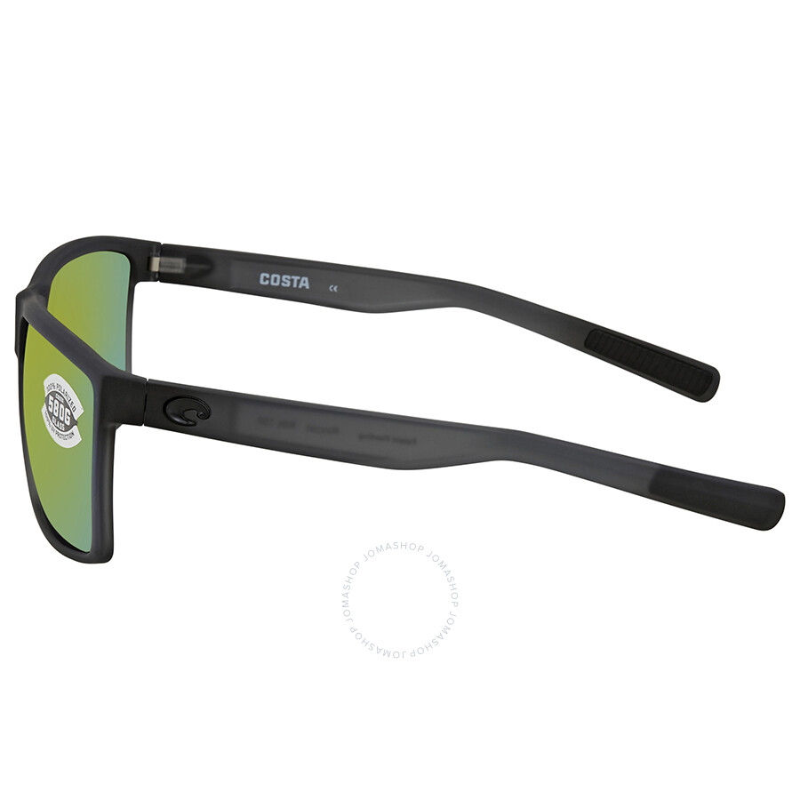7f13381110 ... Costa Del Mar Rincon Green Mirror Rectangular Sunglasses RIN 156 OGMGLP