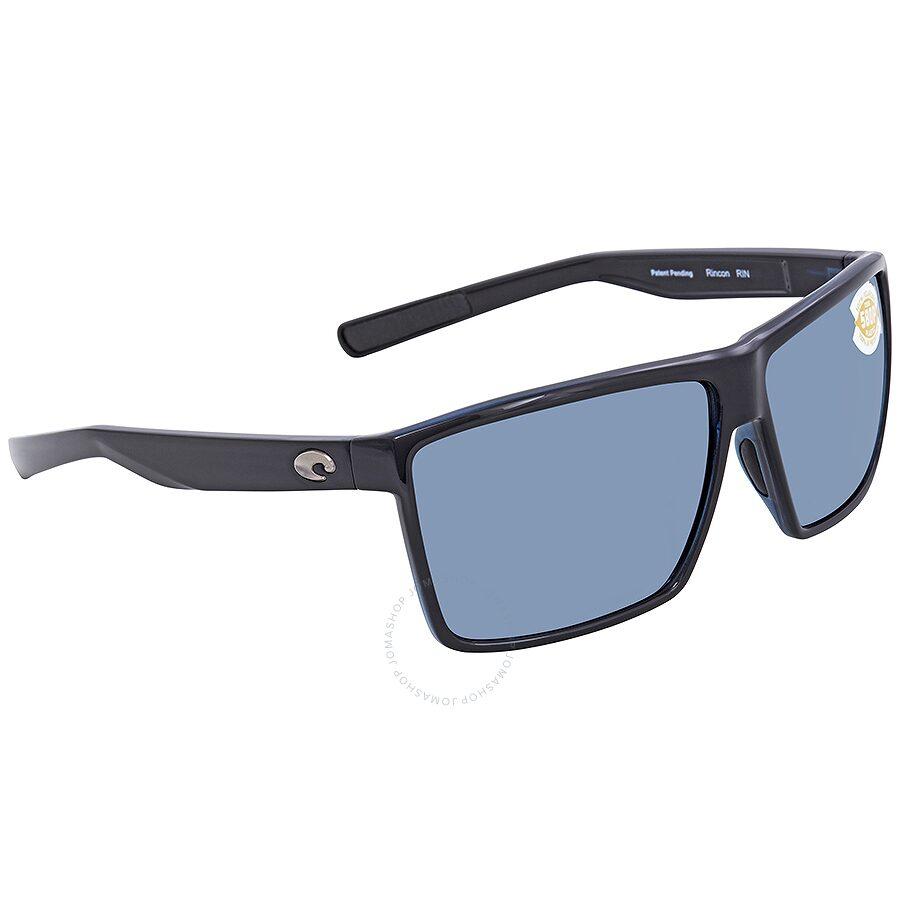 bd8ae9c7b2 Costa Del Mar Rincon X-Large Grey Silver Mirror Sunglasses RIN 11 OSGP Item  No. RIN 11 OSGP