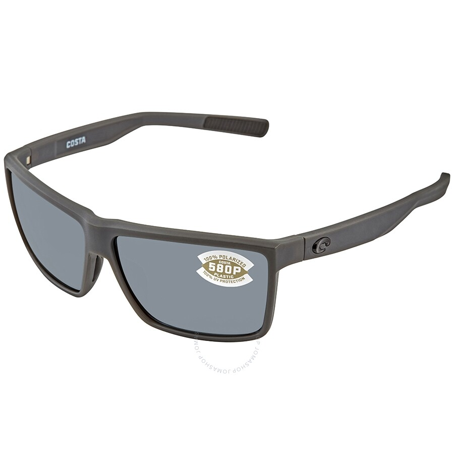 21a0b47465 Costa Del Mar Rinconcito Polarized Gray Plastic Sunglasses RIC 98 OGP ...