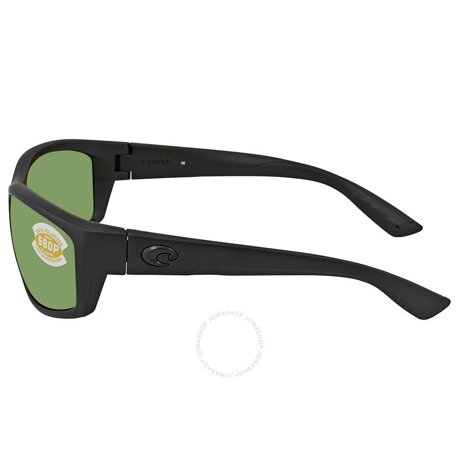 2b398e8f4a448 Sunglasses   Sunglasses Accessories Costa Del Mar Saltbreak Sunglasses  BK-01-OGMP Black 580P Green Mirror Polarized