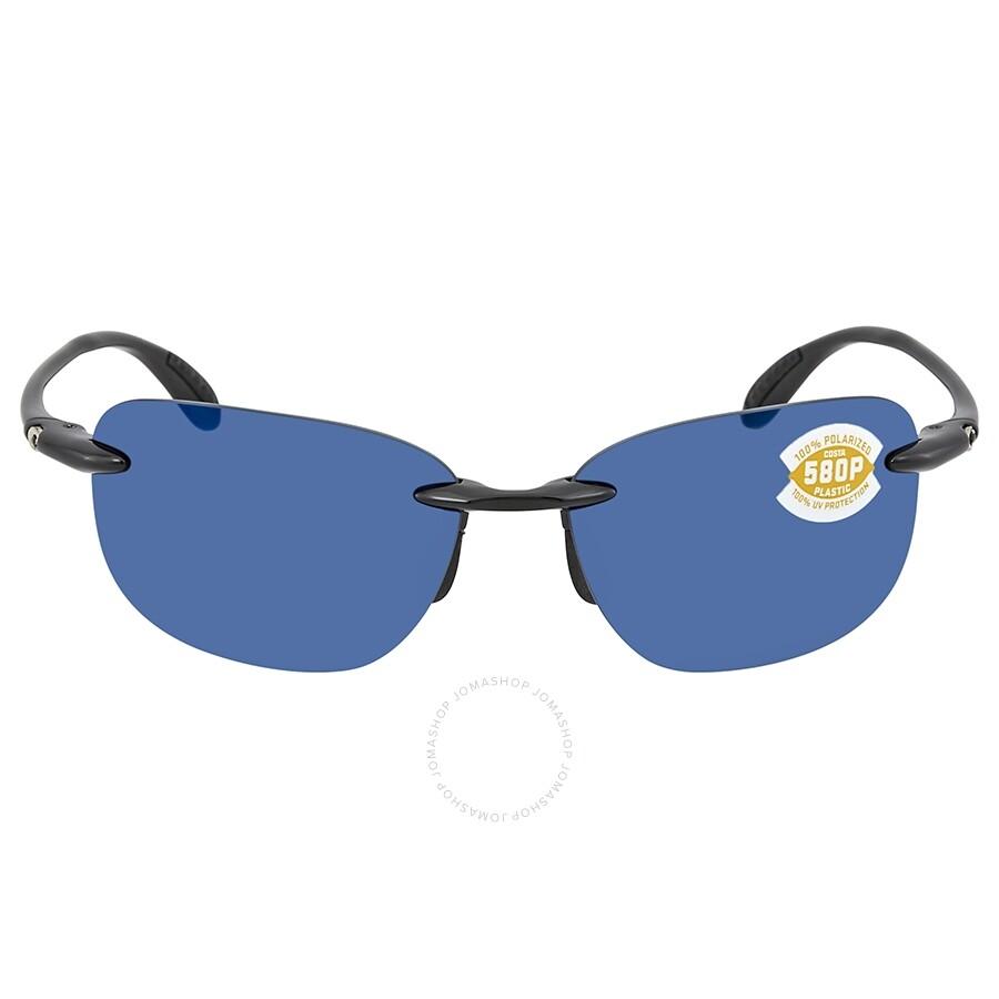 9a99bfe0cf ... Costa Del Mar Sea Grove Blue Mirror Polarized Plastic Rectangular  Sunglasses SGV 11 OBMP ...