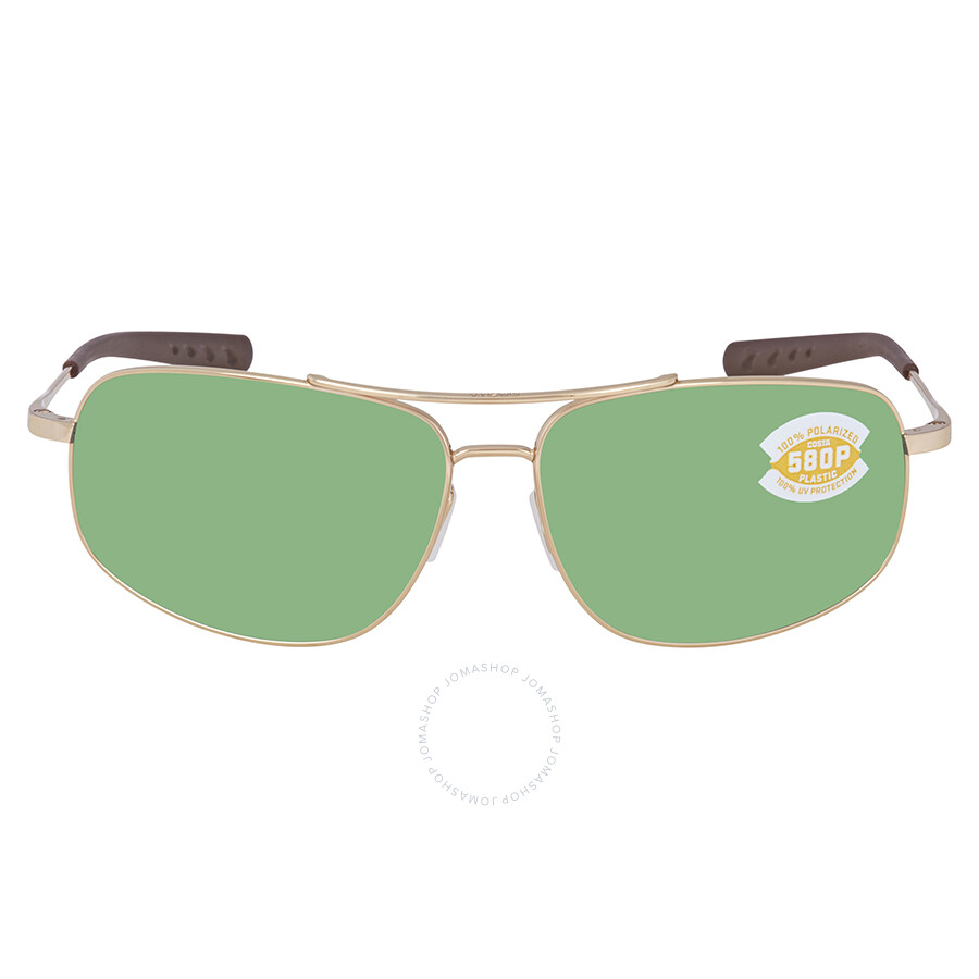 a04de3f5e43 ... Costa Del Mar Shipmaster Green Mirror Polarized Plastic Aviator  Sunglasses SMR 126 OGMP ...