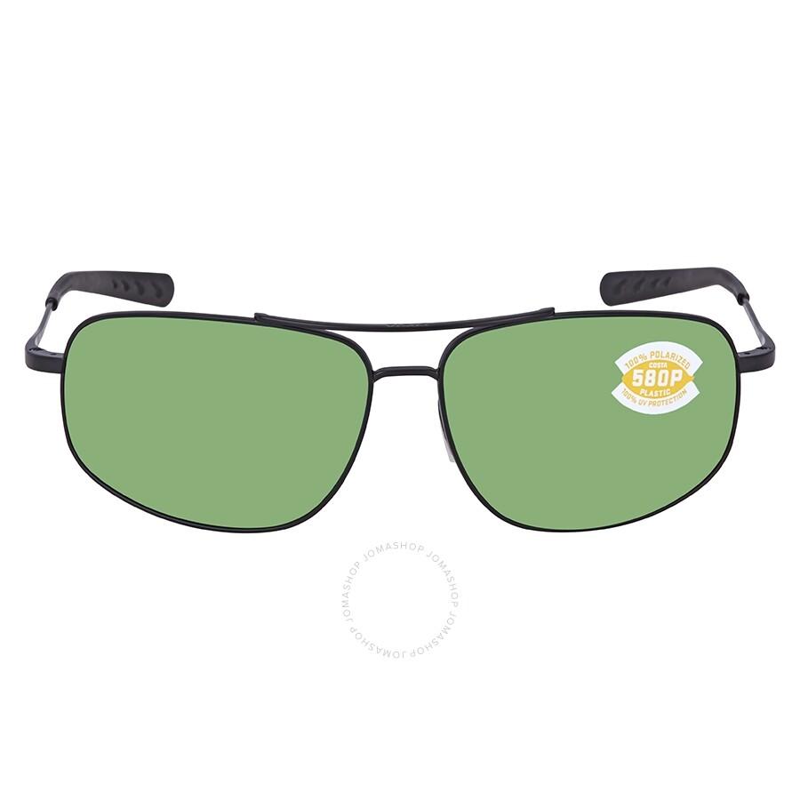 91311cb7a4dac ... Costa Del Mar Shipmaster Green Mirror Polarized Plastic Rectangular  Sunglasses SMR 101 OGMP ...