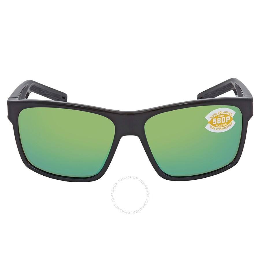 03db71acb5 ... Costa Del Mar Slack Tide Green Mirror Polarized Plastic Square  Sunglasses SLT 11 OGMP ...