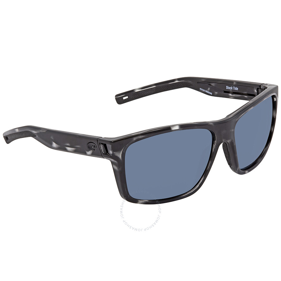 2908b835fe2 Costa Del Mar Slack Tide Ocearch Grey Rectangular Sunglasses SLT 192OC OGP  Item No. SLT 192OC OGP